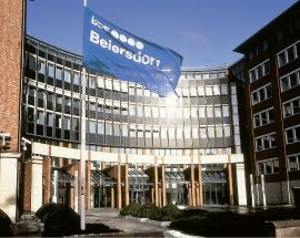 Beiersdorf headquarters in Hamburg- Elastoplast