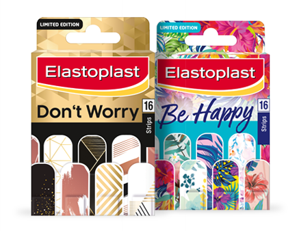 don't worry be happy plasters