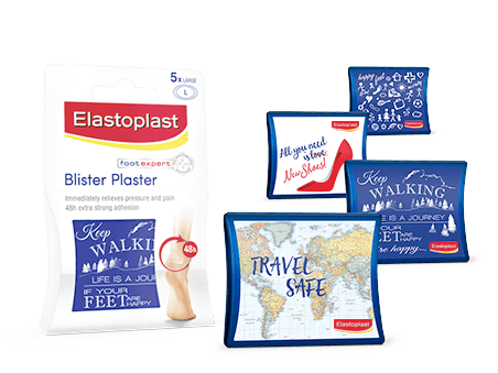 Elastoplast Large Blister Plaster Transparent patch