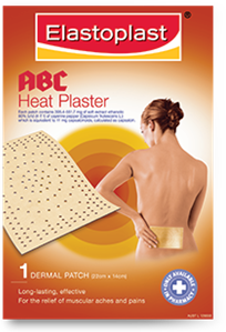 Back plasters for pain